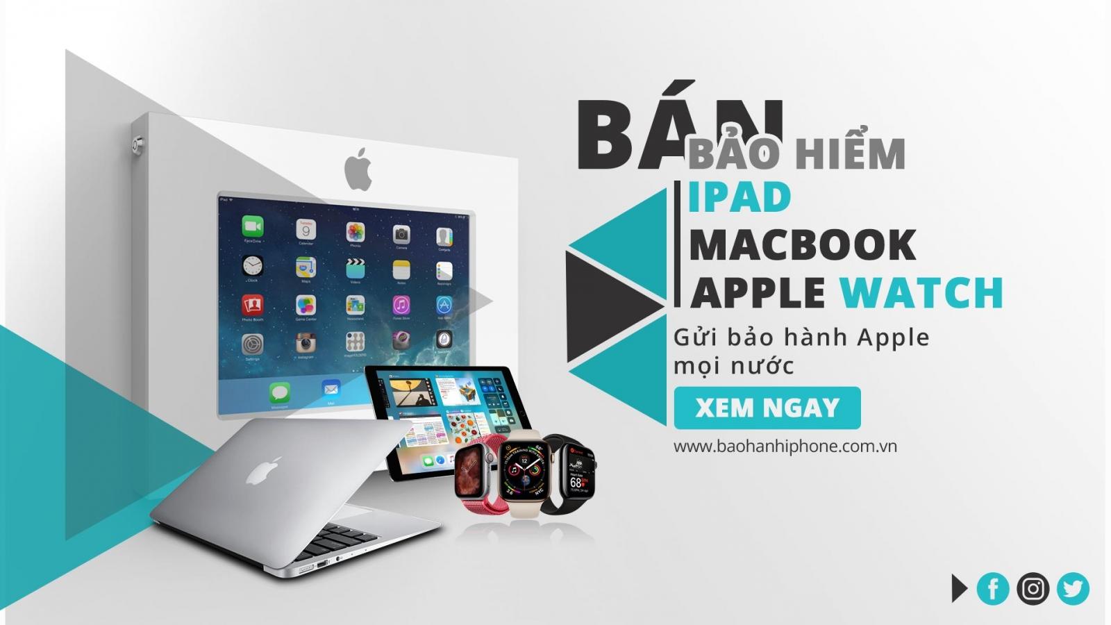 Dịch vụ đổi gửi bảo hành iphone ipad airpod apple watch xách tay Mỹ tại tphcm việt nam