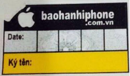 Hướng dẫn dán tem bảo hành Dịch vụ bảo hành Apple uy tín
